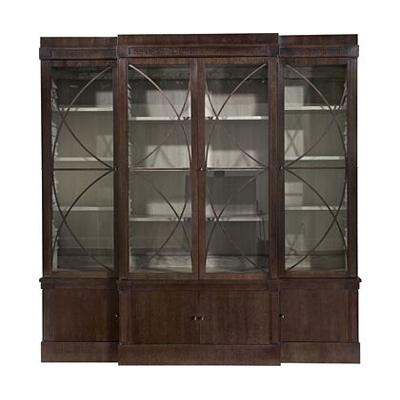 Hickory Chair Artisan 4-Door Ash Grand Cabinet Base