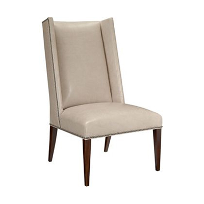Hickory Chair Martin Host Chair with Tight Seat with out Arms - Mah