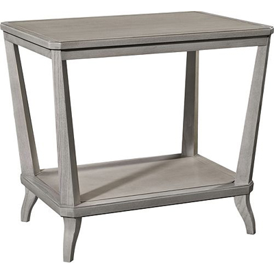 Hickory Chair Rye Rectangular Side Table Ash