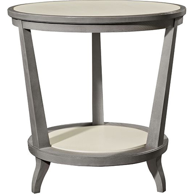 Hickory Chair Rye Round Side Table Ash