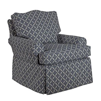 Kincaid TopSail Slipcover Swivel Chair