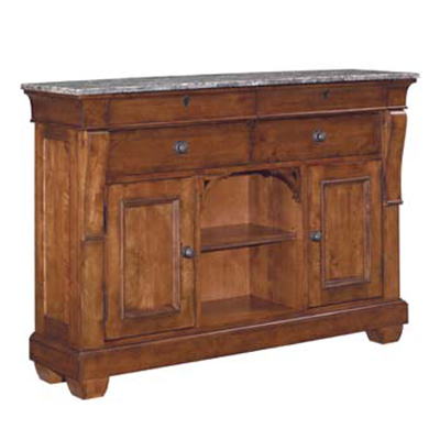 Kincaid Marble Top Sideboard