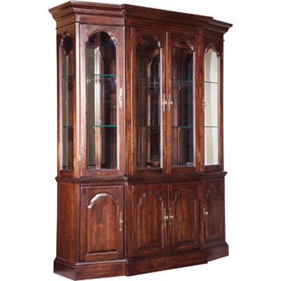 Canted China Cabinet
