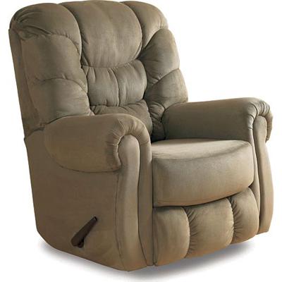 Lane 11919 recliners escalade hide a chaise rocker for Belle hide a chaise high leg recliner