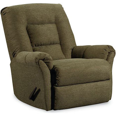 Lane 11789 recliners dooley pad over chaise rocker for Belle hide a chaise high leg recliner