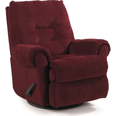 Lane 11915 recliners journey pad over chaise rocker for Belle hide a chaise high leg recliner
