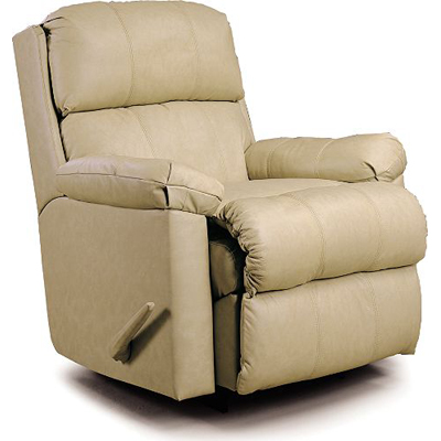 Lane 1740 recliners timeless pad over chaise rocker for Belle hide a chaise high leg recliner