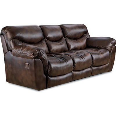 Lane 291 39 Dreamer Pad Over Chaise Double Reclining Sofa