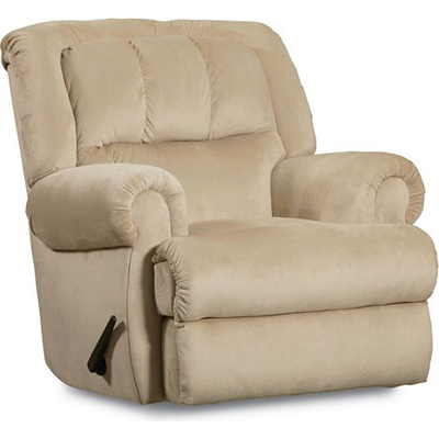 Lane 323 98 recliners evans pad over chaise rocker for Belle hide a chaise high leg recliner
