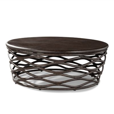 Lane Venture 9206 65 Industrial Renaissance 48 Inch Round Cocktail Table