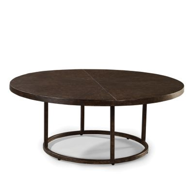 Lane Venture 9206 65 Industrial Renaissance 48 Inch Round Cocktail Table Discount Furniture At