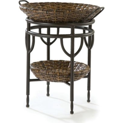 Round Accent Table 9769 04 Cameroon Synthetic Lane Venture