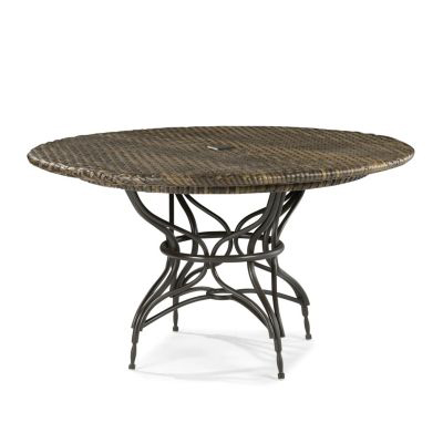 Dining table 96 inch round dining table for Round dining table 52 inch