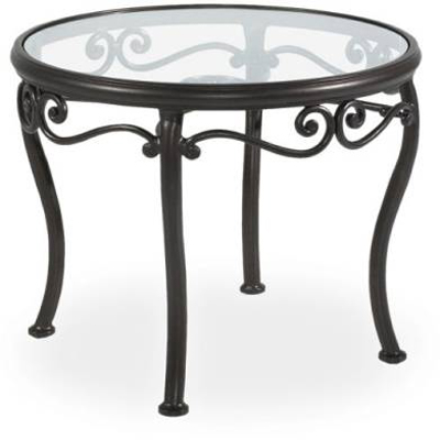 Lazboy 26 inch  Glass Top Table Outdoor