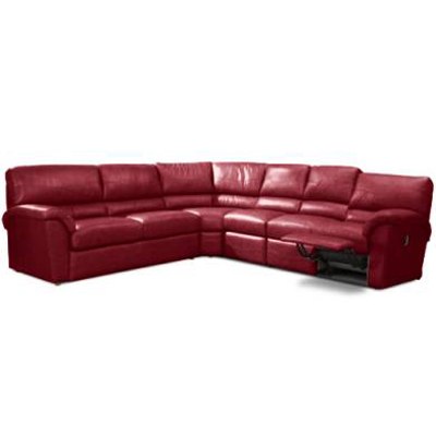 La Z Boy 366 Reese Sectional Discount Furniture At Hickory