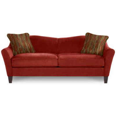 Lazboy stationary sofa demi sale upholstery hickory park for Affordable furniture la