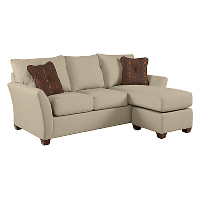 Lazboy Sofa and Ottoman with Chaise Cushion