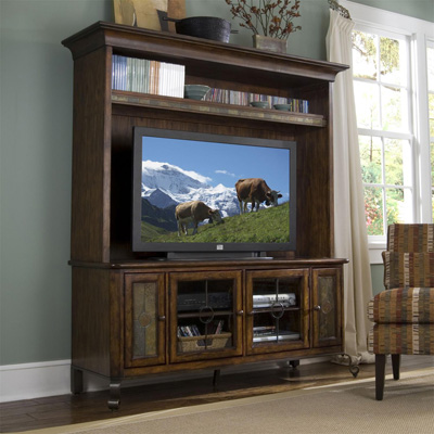 Riverside TV Console and Deck
