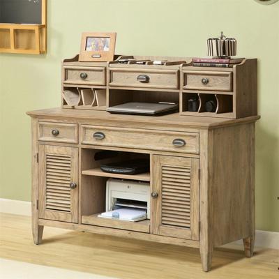 Riverside Credenza Desk and Hutch