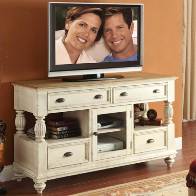 Riverside Tall TV Console
