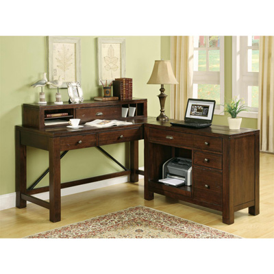 Riverside Writing Desk Hutch