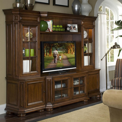 Riverside 48 Inch TV Console Wall System