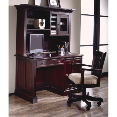 Riverside 50 Inch Computer Desk and Hutch