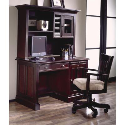 Riverside 50 Inch Computer Desk and Hutch