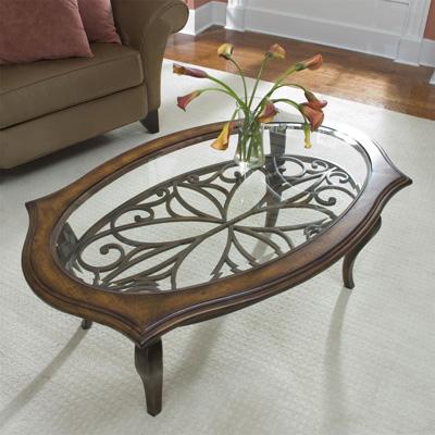 Riverside Oval Coffee Table