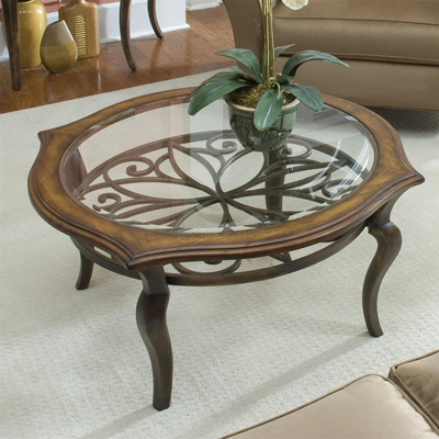 Riverside Round Coffee Table