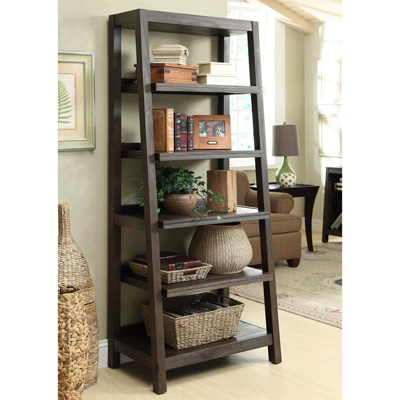 Riverside Canted Bookcase
