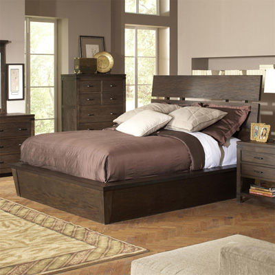 Riverside Slat Panel Bed