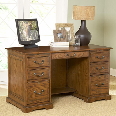 Riverside 54 Inch Flat Top Desk