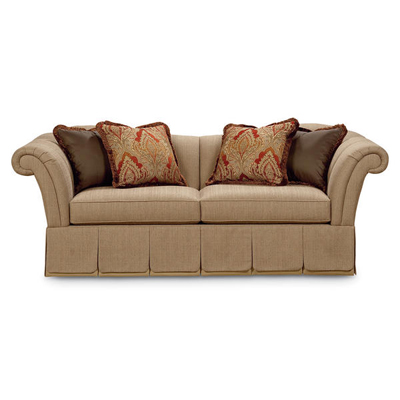Schnadig 3050 082 A New London Catherine Skirted Sofa