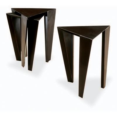 Swaim Triangle Stack Table