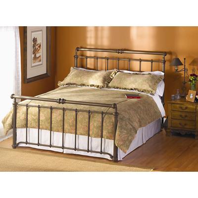 wesley allen iron beds laurel iron bed discount furniture. Black Bedroom Furniture Sets. Home Design Ideas