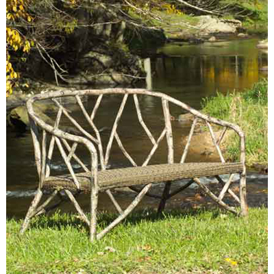 Whitecraft s545011 woolrich river run lounge chair for Jungle furniture white river