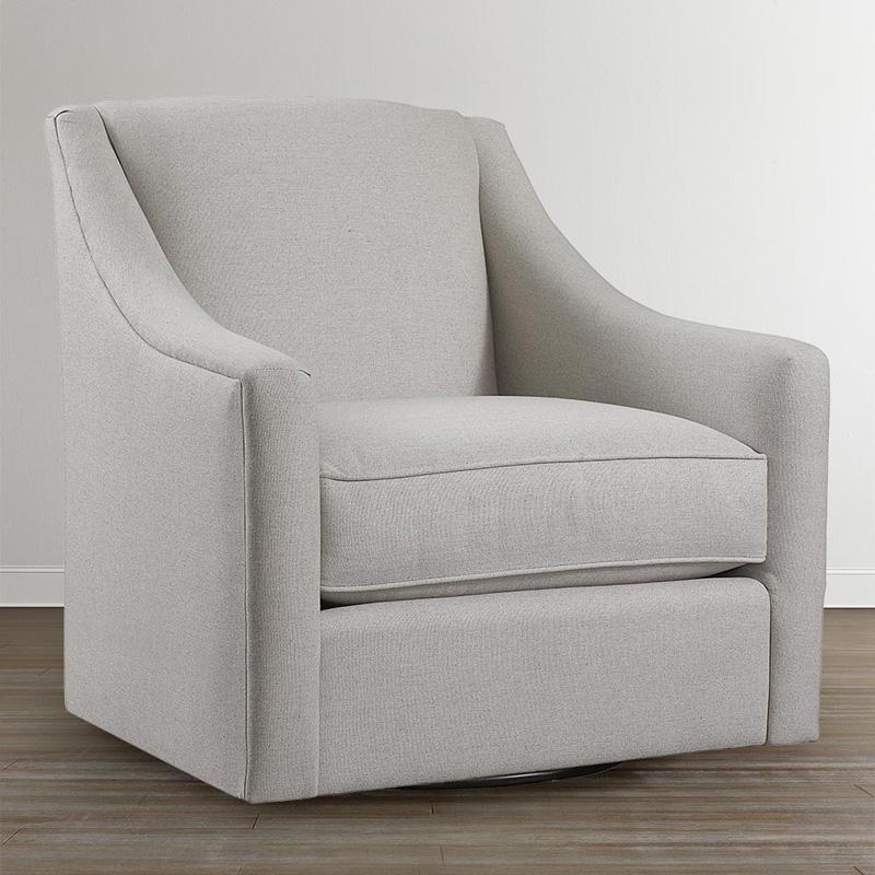 Bassett 1045 09 Corinna Swivel Glider Discount Furniture
