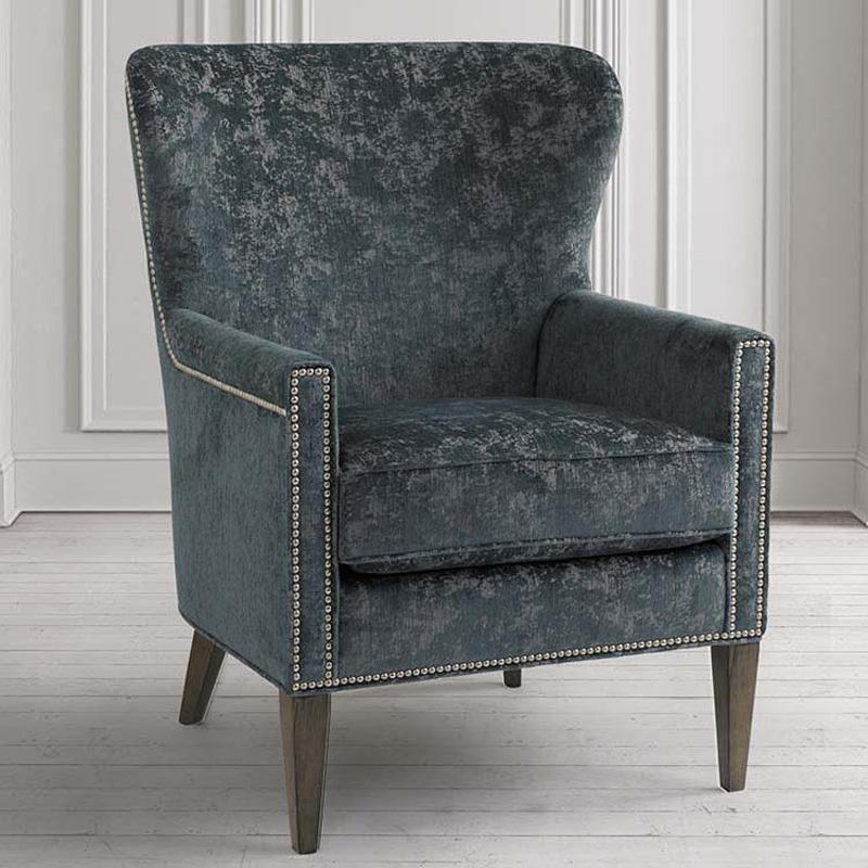 Bassett 1184-02 Victoria Accent Chair Discount Furniture