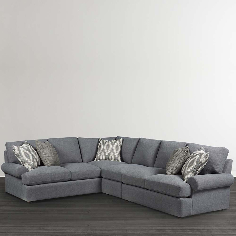 Bassett 2607-LSECTL Sutton Large L Shaped Sectional ...