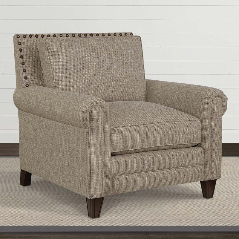 Bassett 2618 12 Harlan Chair Discount Furniture At Hickory