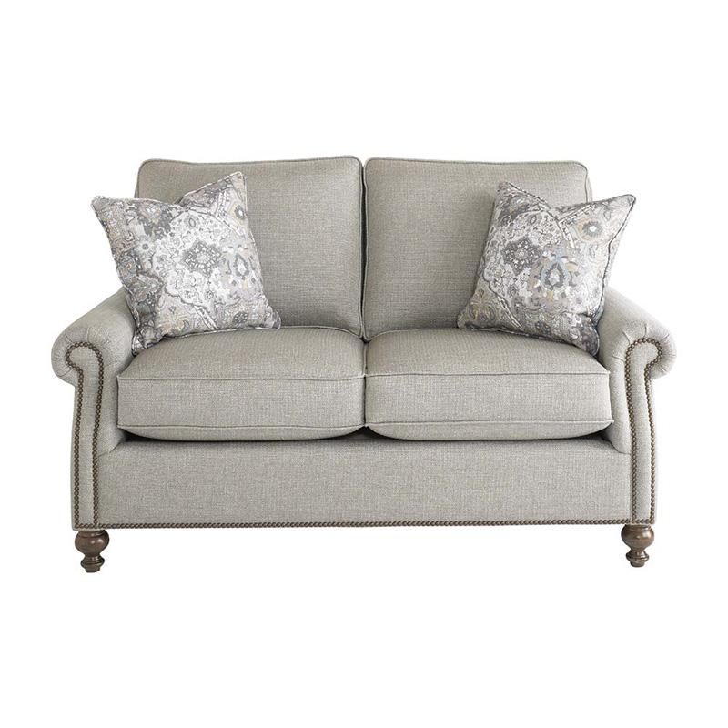 Bassett 2620 42 Carlisle Loveseat Discount Furniture At