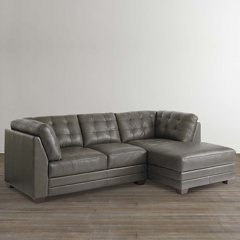 Bassett 3730 rcsecte affinity right chaise sectional for Bassett sectional sofa with chaise