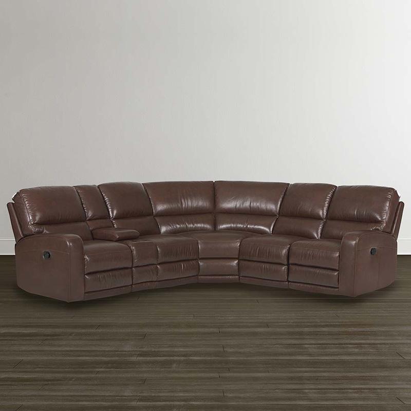 Bassett 3747 lsectt versa motion sectional discount for Sectional sofa configurations