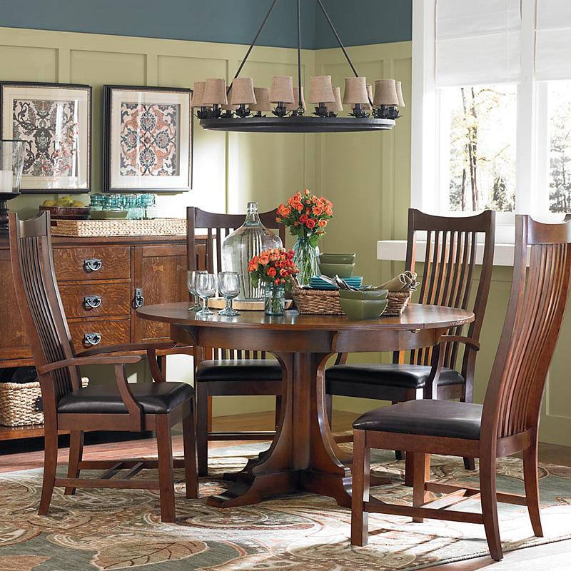 Bassett mirror dining table