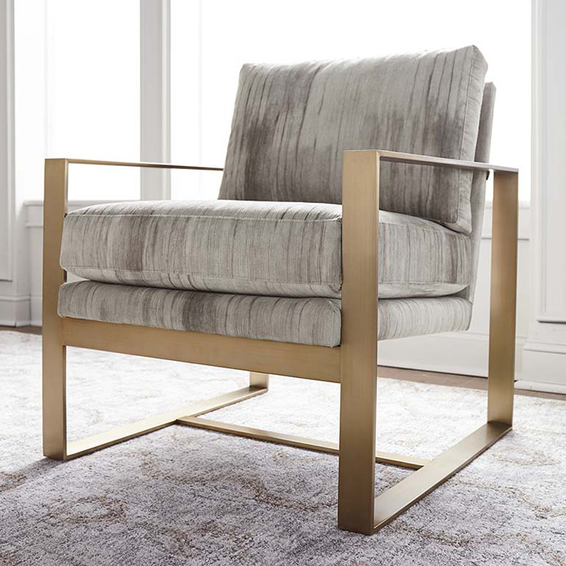 Excellent Bassett 1187 02 Modern Maren Accent Chair Discount Furniture Dailytribune Chair Design For Home Dailytribuneorg