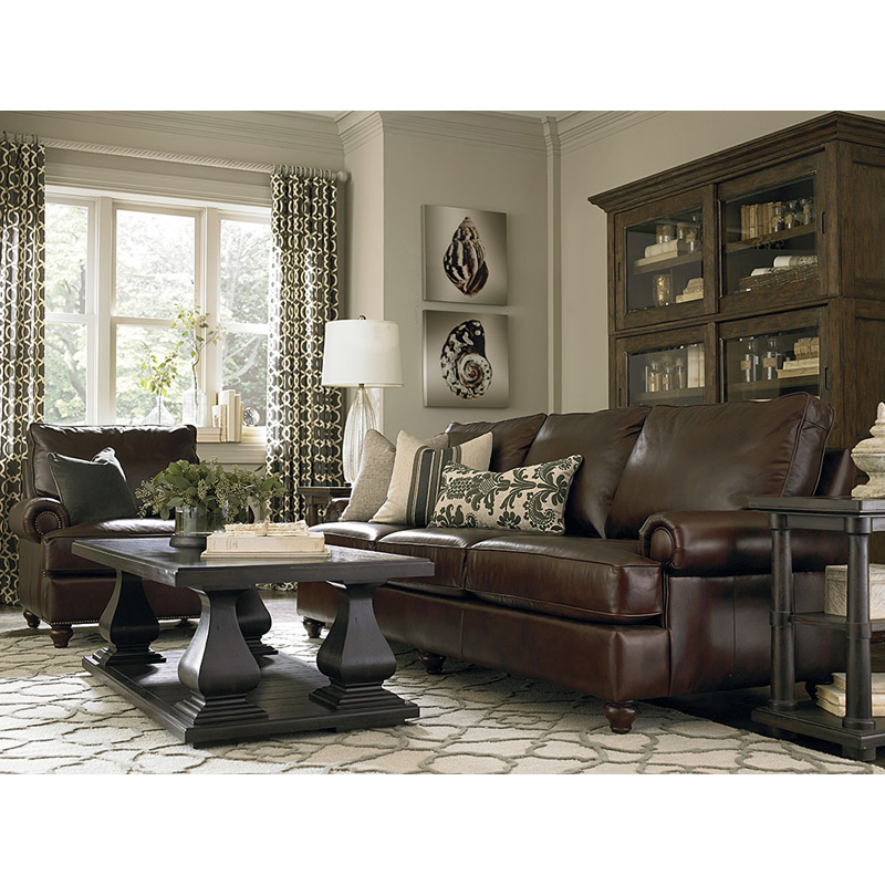 Bassett 3103 82l montague great room sofa discount for Great room sectional