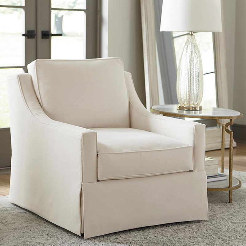 Top 4 Comfortable Chairs For Living Room: Bassett 2646-02 Designer Comfort Exeter Accent Chair