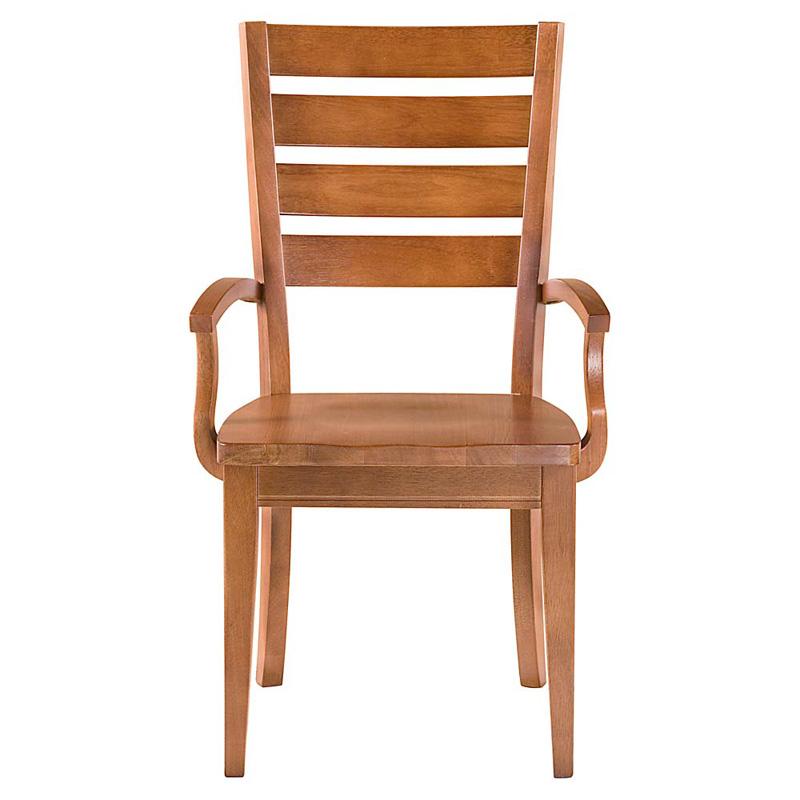 Bassett Furniture Dining Chairs: Bassett 4469-0684 Custom Dining Arm Chair Discount