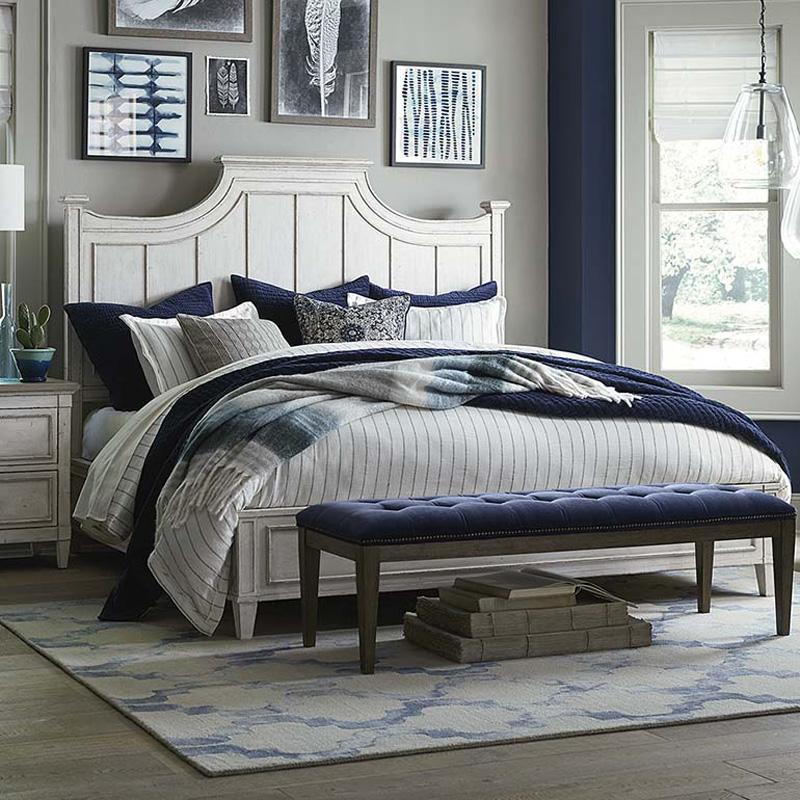 Bassett 2572 K159 Bella Panel Bed Discount Furniture At